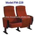 Fm-228 macio encosto alto acolchoado da igreja do assento do banco com as pernas de ferro
