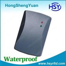 HSY Manufacturer IP65 waterproof Proximity 125khz em card reader