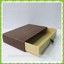 High end LV sliding drawer paper packaging box