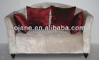 2014 new design sofa fabric velour fabric living room sofa bed hinge