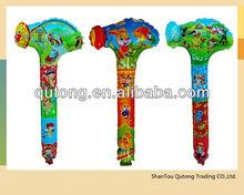 hammer balloon/inflatable hammer balloon/PE hammer balloon toy
