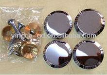 high quality zinc alloy mirror decorative nail/decorative fittings