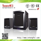 55W subwoofer 2.1 audio multimeida computer speaker.bass quality speaker;home theatre subwoofer.big output power 55w TF-824