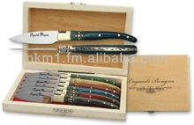Set of 6 oyster knives