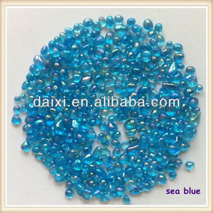 color swimming pool glass bead