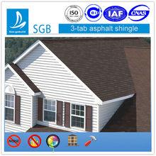 Colorful Fiberglass Asphalt Shingle Roof Tile