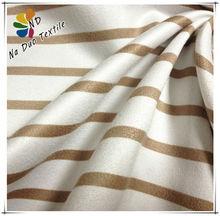 Stripe Textile Printing Suede Fabric/Digital printed fabrics