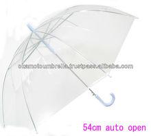 transparent umbrella used polyethylene(no gas) made in China