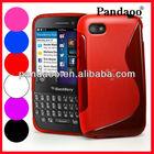 S line soft back tpu case for blackberry q5