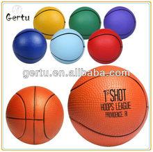 Eco Friendly Pu foam Basketball Anti Stress Ball