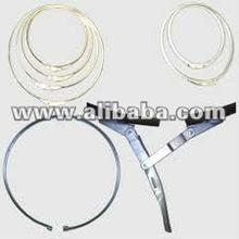 Exportador tambor anillo de cierre para tambor de acero