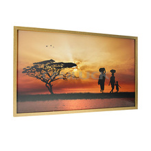 Landscape Framed Pictures/ Picture Artworks/ Sunset Picture Framed Arts