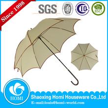 Homi Beautiful monochrome ladies' straight umbrella, cheap frock umbrella in shangyu