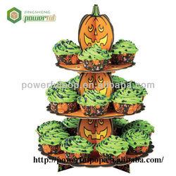 Retail Halloween pumpkin cardboard cake pop stand