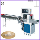 Disposable medical syringe packaging machine