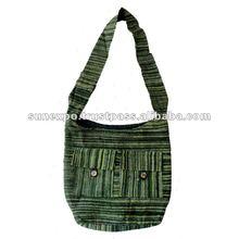 Velvet Touch Cotton Boho Hobo Handcrafted Tote Hippie Indian Sling Cross Body Bag