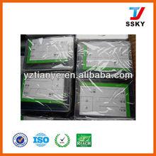 Clear PVC plastic ID card holder