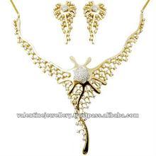 designer jewelry set, diamond wedding jewelry sets, wedding necklace and earring set