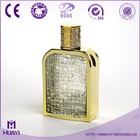 2014 New Design Arabric 100ml perfume glass bottle