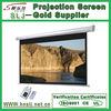 Wall Mounted Motorized Projector Screen / Electric Projector Screen / Automatic Projector Screen