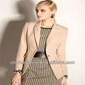 las mujeres de moda traje de negocios para las señoras