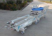 Trasporto barella del paziente, in lega di alluminio, abs plastica