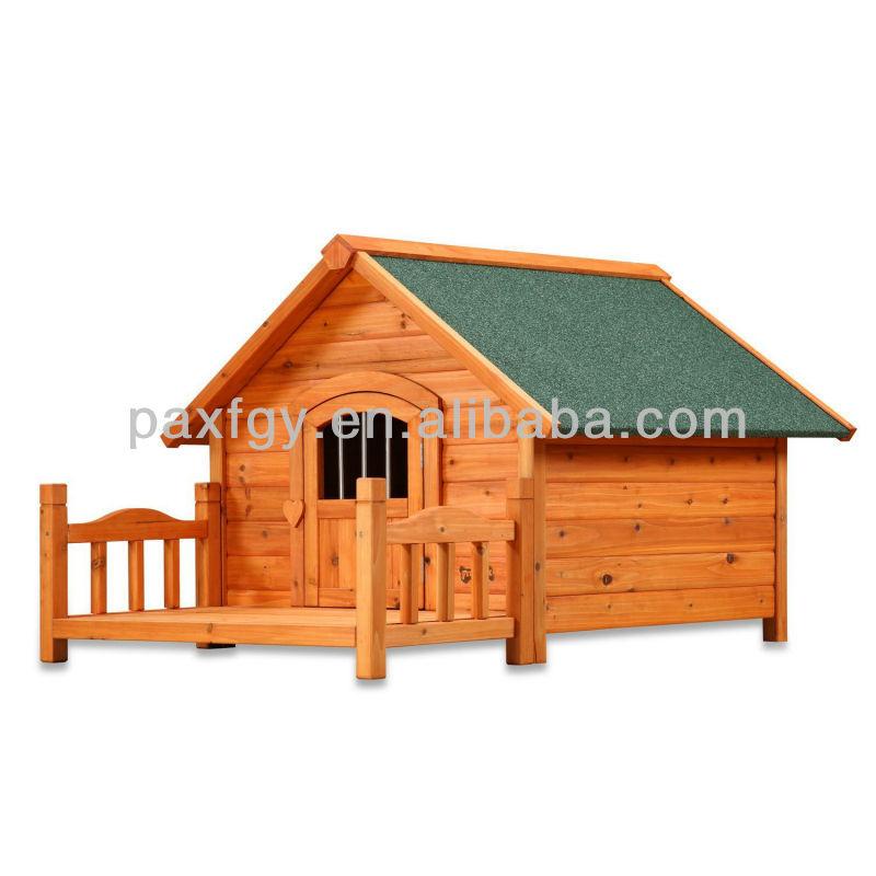 wood dog house