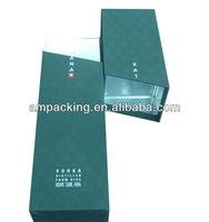 custom design exquisite special paper vodka box