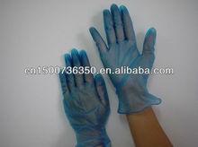 disposable AQL1.5 cheap Malaysia blue nitrile gloves