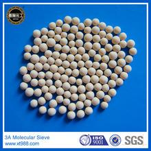 3~5mm beads molecular sieve 3a for ethanol dehydration