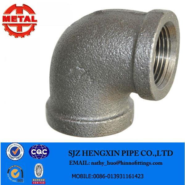 Tipos encanamento materiais galvanizado ferro maleável montagem