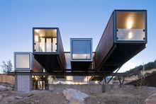 Staxbond Prefabricated container house /villa(Australia)design in china