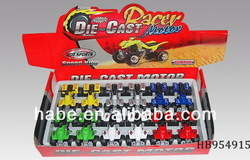 Pull Back Die-Cast Metal Beach Motorbike 12Pcs, Children Toys Alloy Car, Toys For Kid