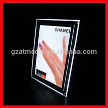 Led Crystal Acrylic Frameless Light Box On Table Factory