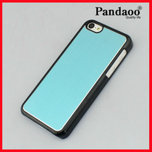 Brush aluminum cell phone hard case for iphone 5c case