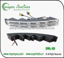 12/24V 10W LED Day Running Light,DRL,High power led daytime running light