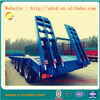 2014 new 4 axles 16 wheels low bed semi trailer with ladder