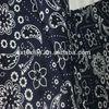 21s*21s 60*60,130g/sm,printed blue cotton plain fabric