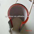 Silicone flexível aquecedor de caneca/pressador máquina de aquecimento