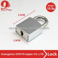 Fashion metal twist lock handbag hardware bag lock