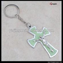 Plastic Crucifix Cross Keychain Pendant