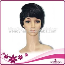 Wendy synthetic short hair wig gentle style fashion and colorful best quality