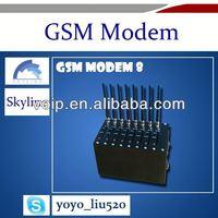 Providing 8 channels wavecom gsm modem bulk sms modem laptop sim card modem