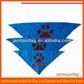 personalizados de impresión de logotipo de perro bandana
