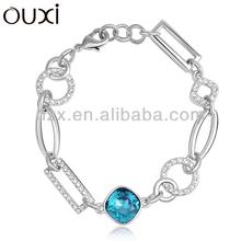 OUXI 2015 Newest bracelet made with Swarovski Elements Crystal Jewelry OUXI-30233