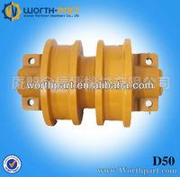 part , dozer spare parts, d50 track roller