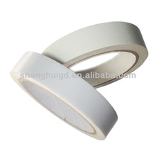Double sided fabric adhesive tape with high viscosity