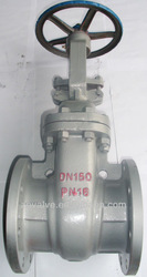 Russian Carbon Steel Dual Discs stem Gate Valve