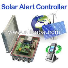 Solar Power SMS Alert Controller