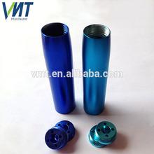 VMT precision high custom design aluminum metal smoking pipes parts